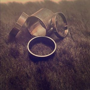 4 Stackable Ring Bundle